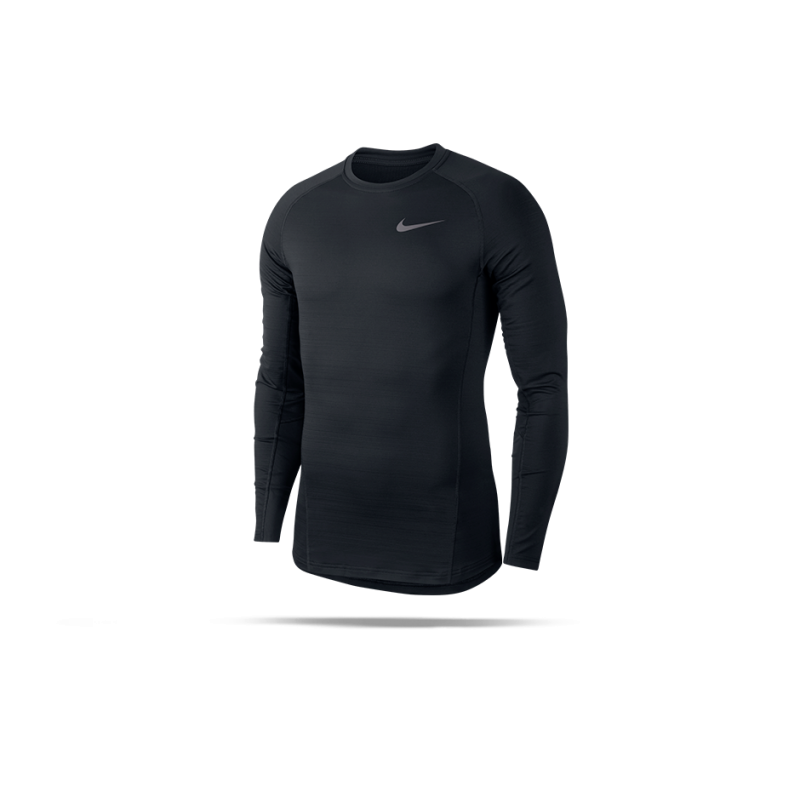 NIKE Pro Warm Longsleeve Shirt (010) - Schwarz
