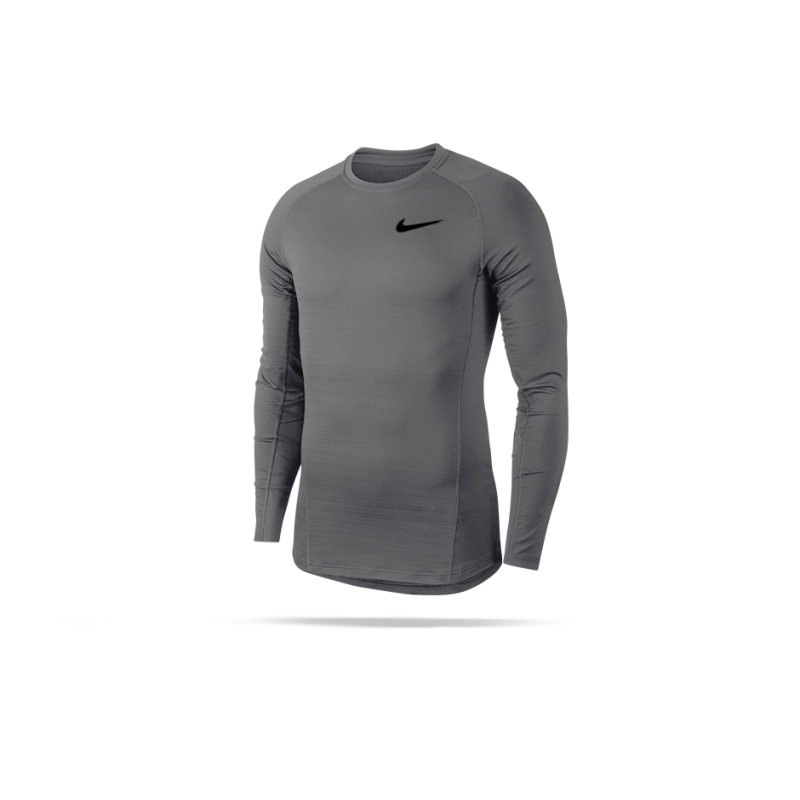 NIKE Pro Warm Longsleeve Shirt (036) - Grau
