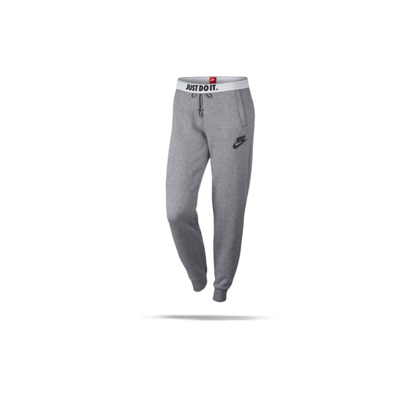 nike rally pant jogginghose damen 091 in grau. Black Bedroom Furniture Sets. Home Design Ideas