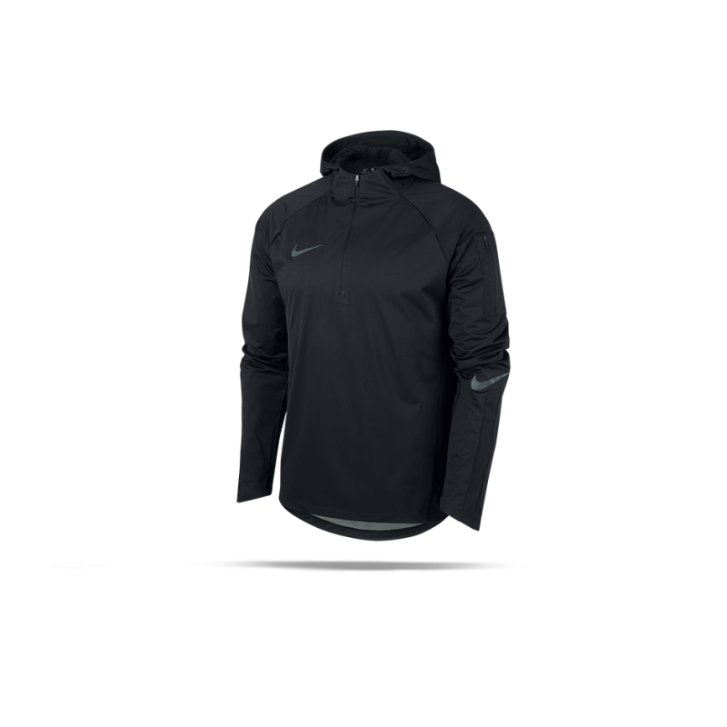 NIKE Shield Squad Drill Top Sweatshirt (010) - Schwarz