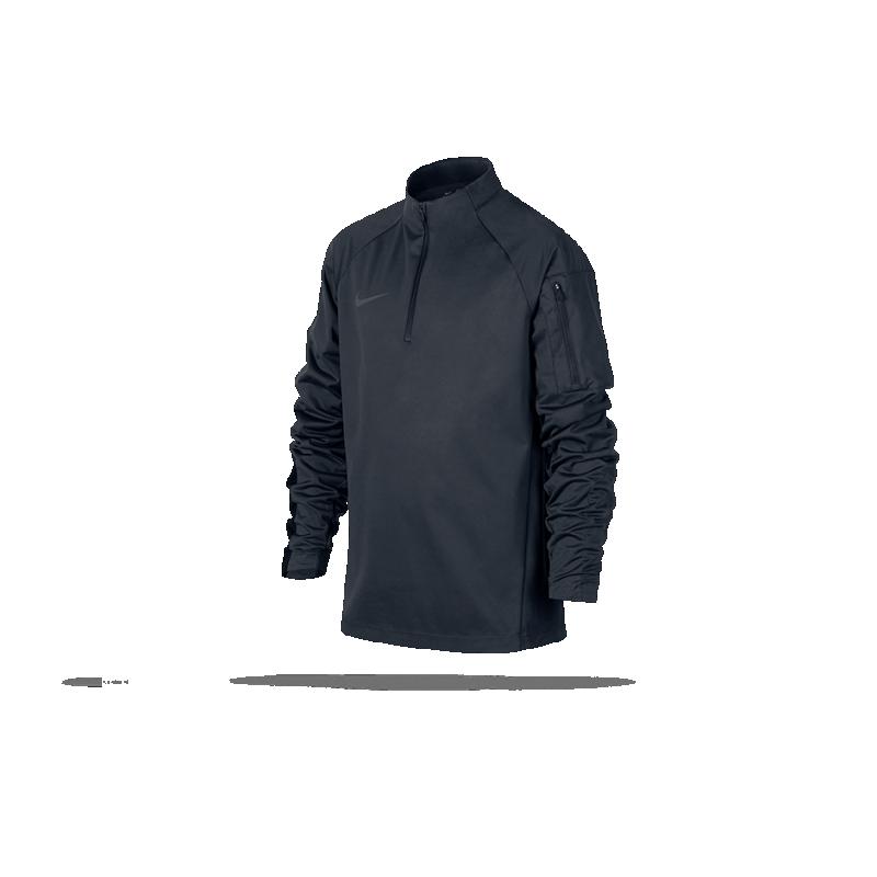 NIKE Shield Squad Drill Top Sweatshirt Kinder (010) - Schwarz