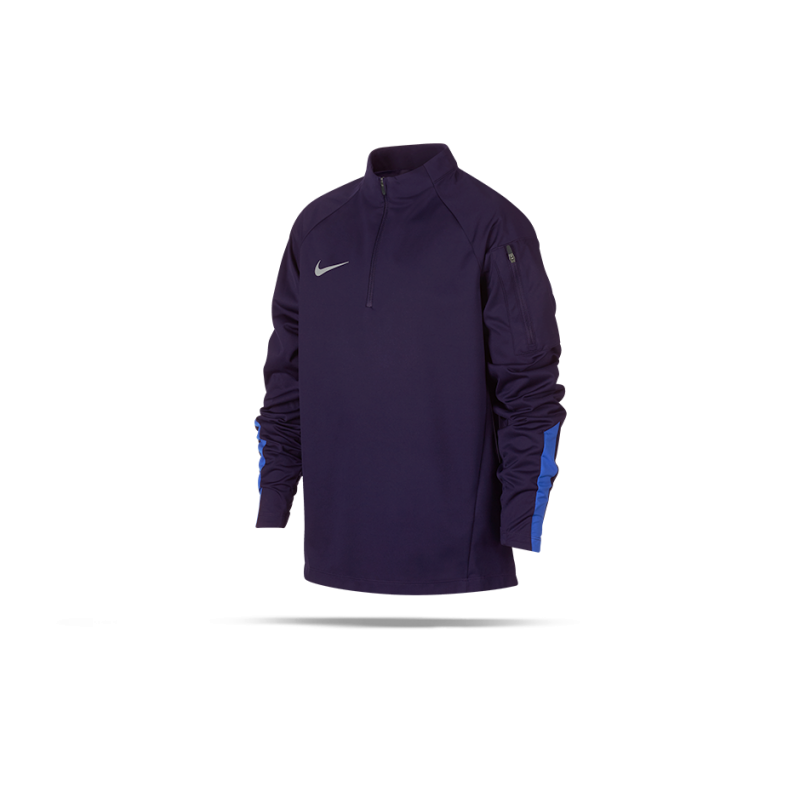 NIKE Shield Squad Drill Top Sweatshirt Kinder (416) - Blau