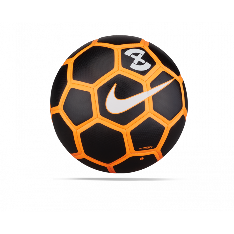 NIKE Strike X Football Fussball Gr. 5 (010) - Schwarz