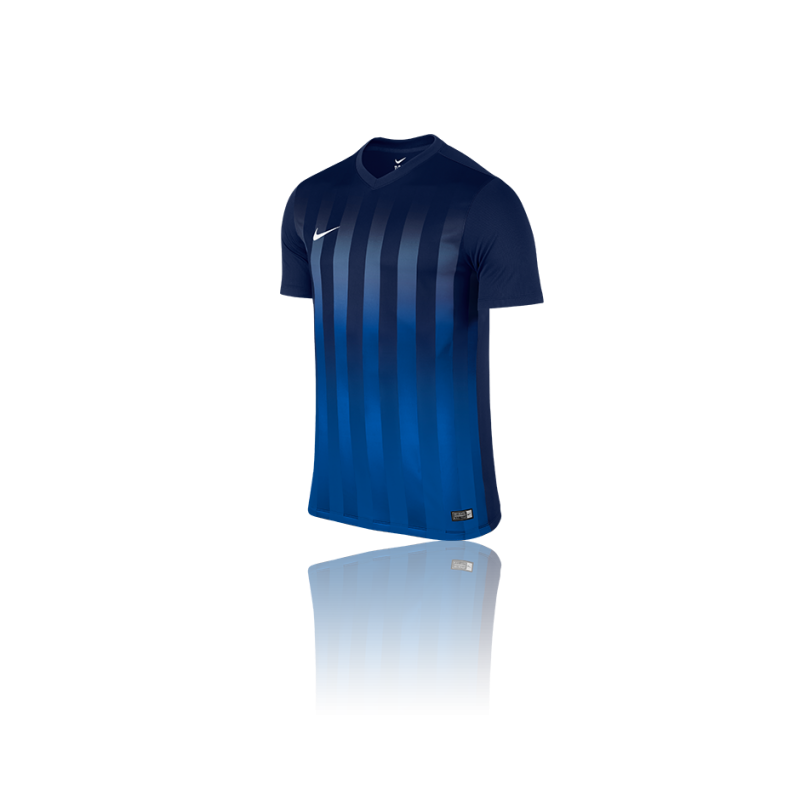 NIKE Striped Division II Trikot kurzarm (410) - Blau