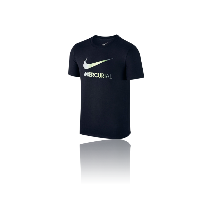 NIKE Swoosh Mercurial Tee T-Shirt (010) - Schwarz