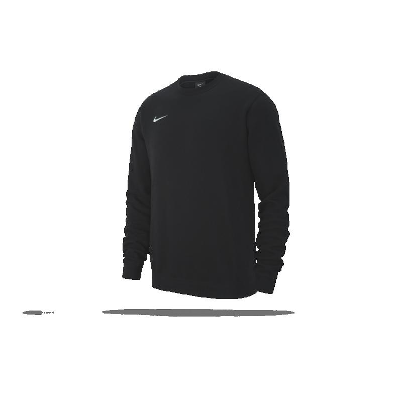 NIKE Team Club 19 Crew Sweatshirt (010) - Schwarz