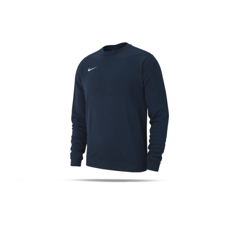 NIKE Team Club 19 Crew Sweatshirt (451) - Blau
