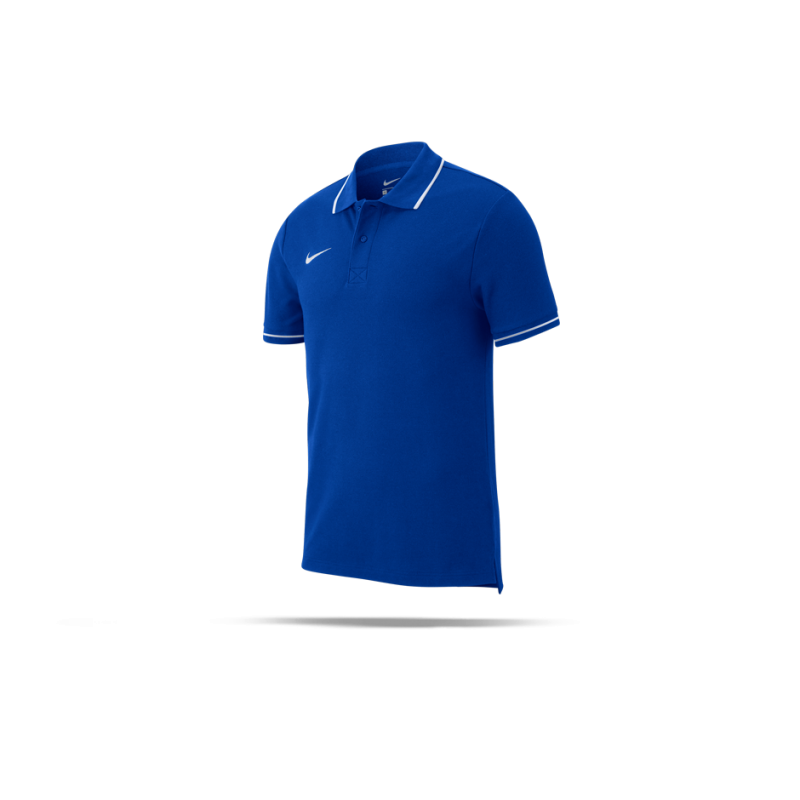 0e921878 NIKE Team Club 19 Polo-Shirt (463) in Blau