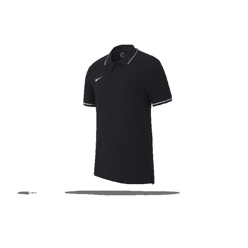 NIKE Team Club 19 Poloshirt (010) - Schwarz