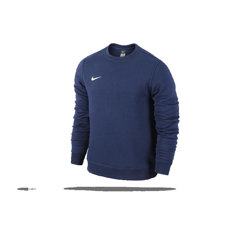 NIKE Team Club Crew Sweatshirt (451) in blau ef0274ccaf
