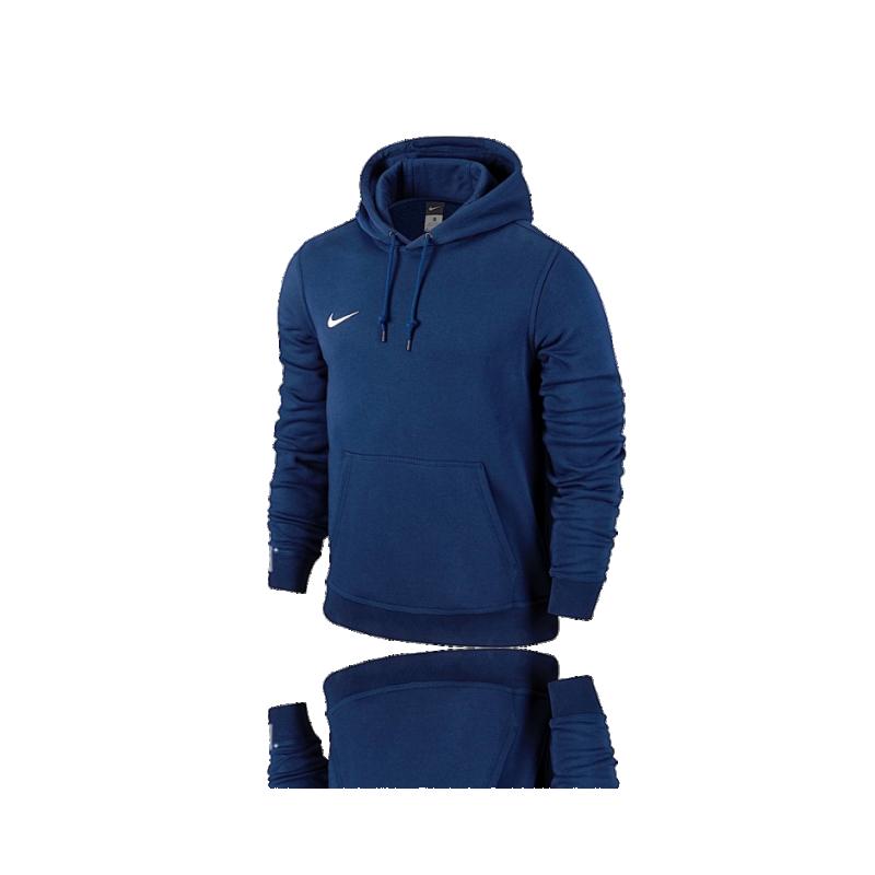 NIKE Team Club Hoody Sweatshirt (451) - blau