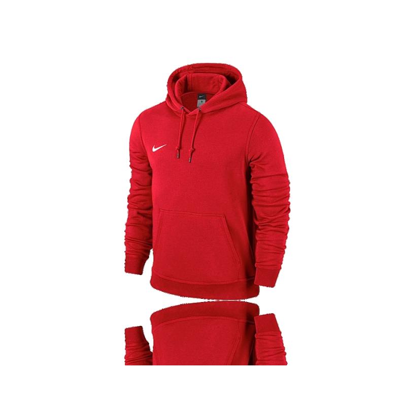 NIKE Team Club Hoody Sweatshirt (657) - Rot