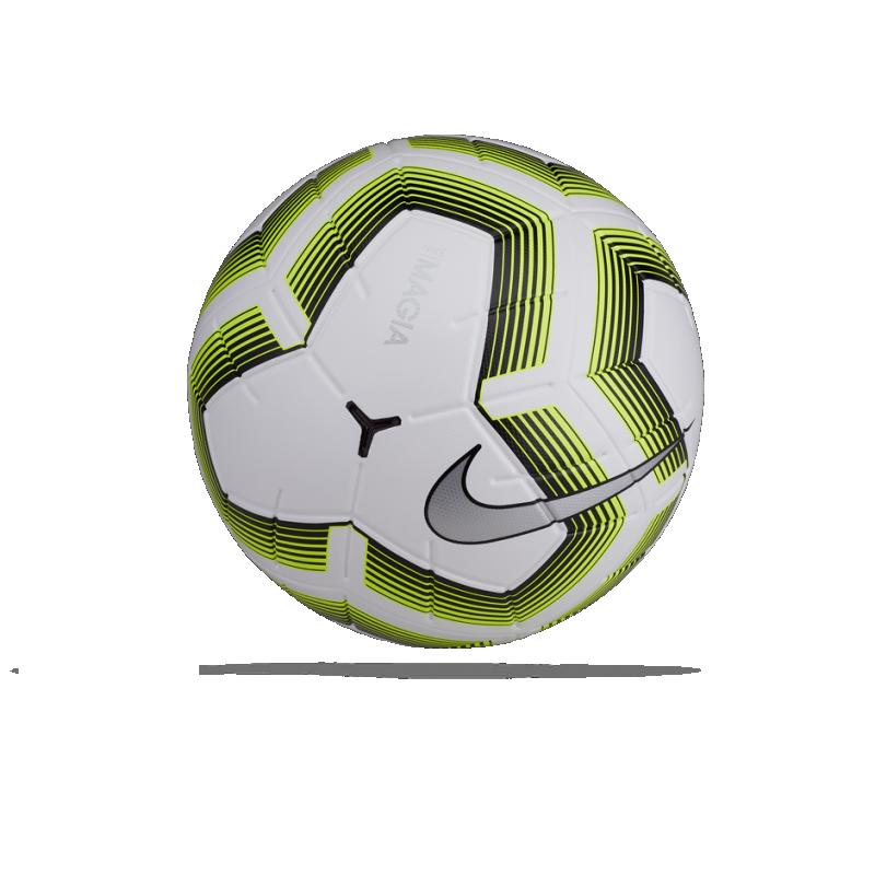 NIKE Team Magia II Fussball Gr. 5 (100) - Weiß