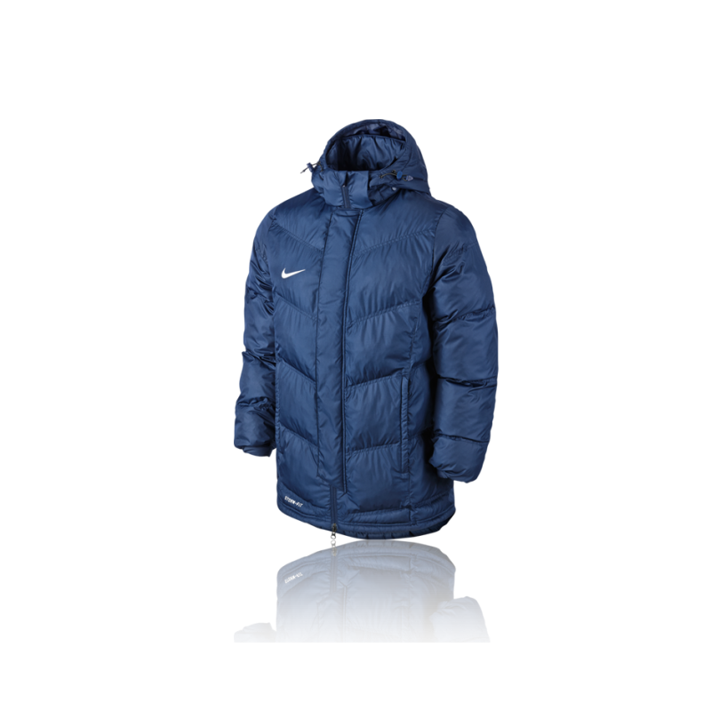 nike team winterjacke 451 blau. Black Bedroom Furniture Sets. Home Design Ideas