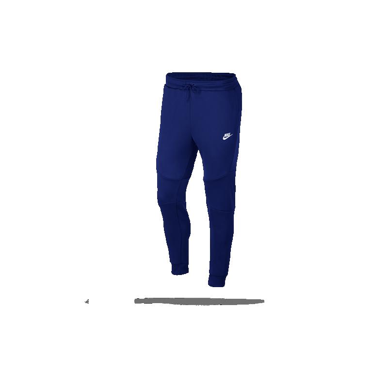nike tech fleece icon jogginghose 455 in blau. Black Bedroom Furniture Sets. Home Design Ideas