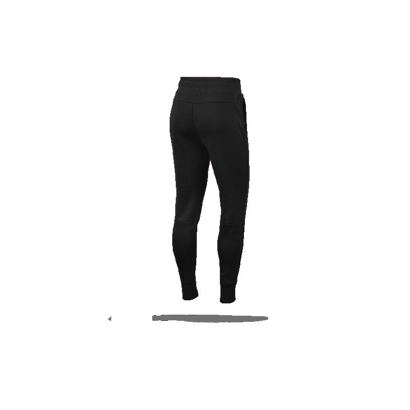 nike tech fleece jogger pant hose lang damen 010 in schwar. Black Bedroom Furniture Sets. Home Design Ideas