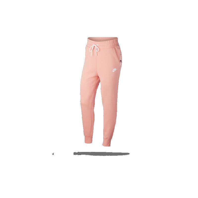 Angebot High Fashion süß NIKE Tech Fleece Jogger Pant Hose lang Damen (606)