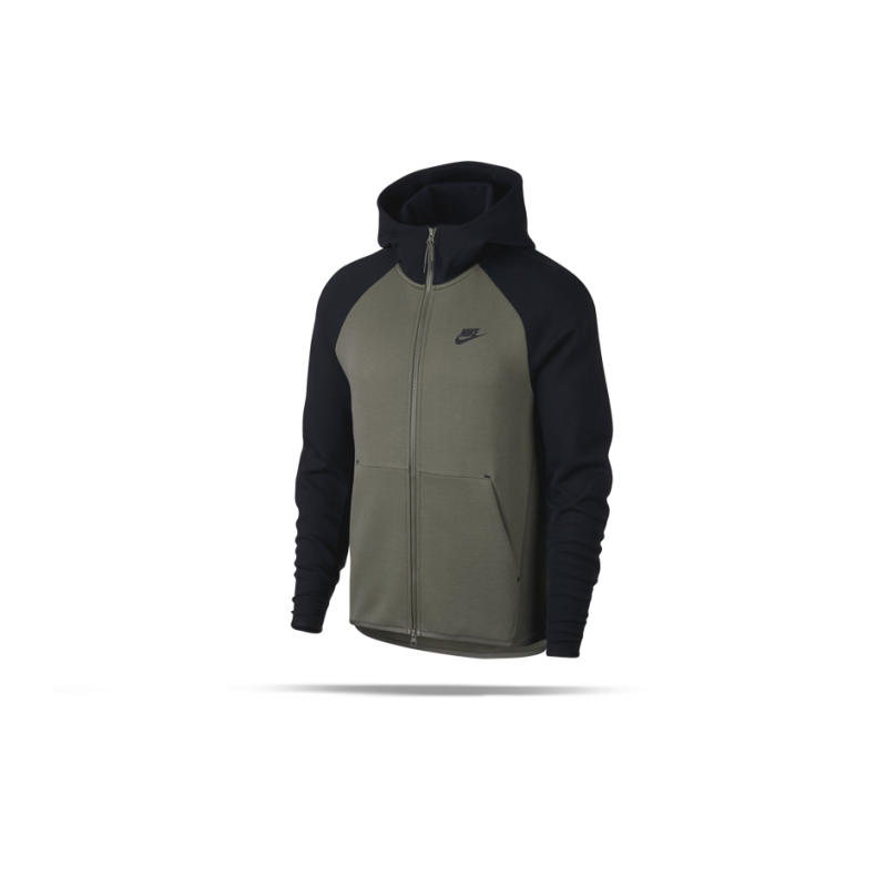 NIKE Tech Fleece Kapuzenjacke (381) - Grün