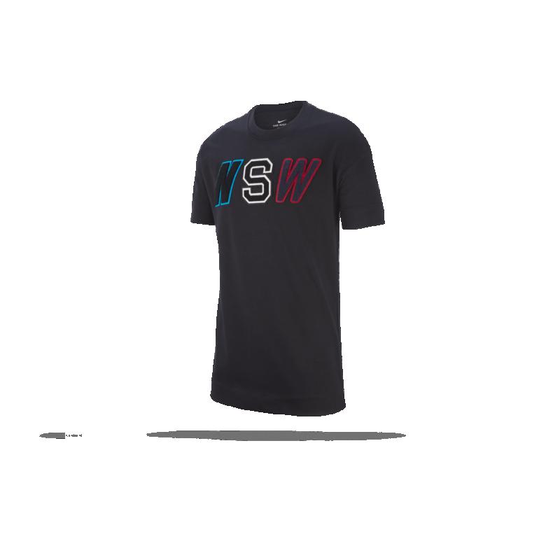 Nike Mädchen Sportswear T Shirt, Weiß (WhiteBlack101), Gr