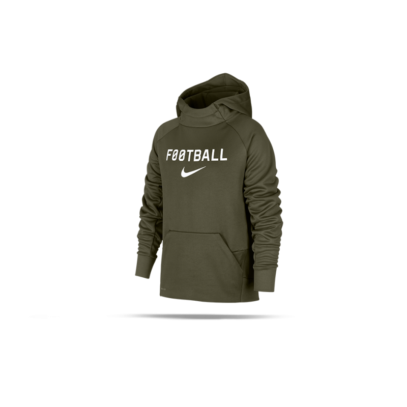wholesale sales new product so cheap NIKE Therma Football Hoody Kapuzensweater Kinder (395)