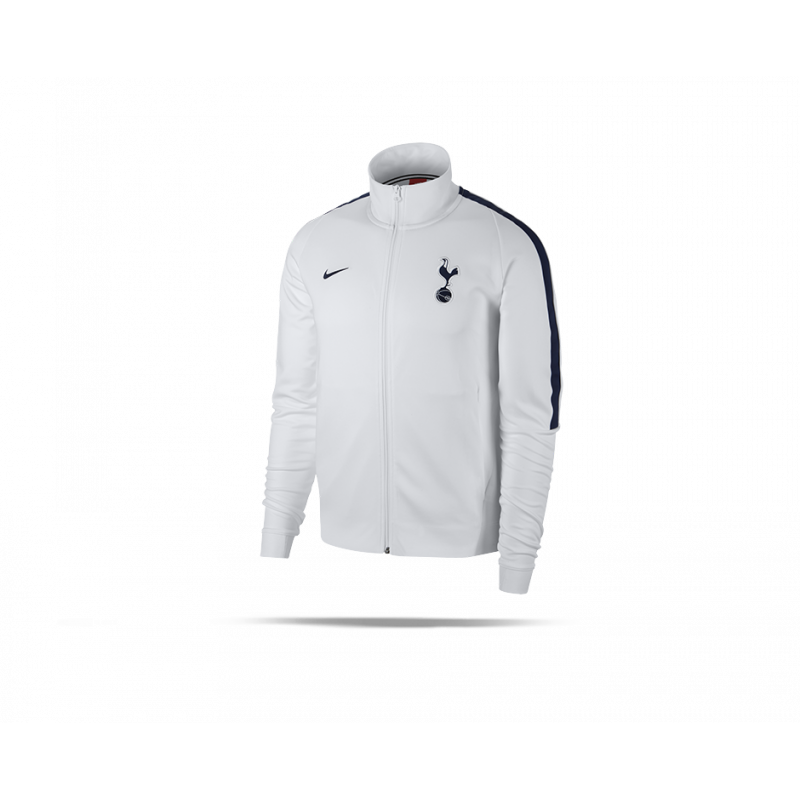 nike tottenham hotspur authentic jacket jacke 100 in wei. Black Bedroom Furniture Sets. Home Design Ideas