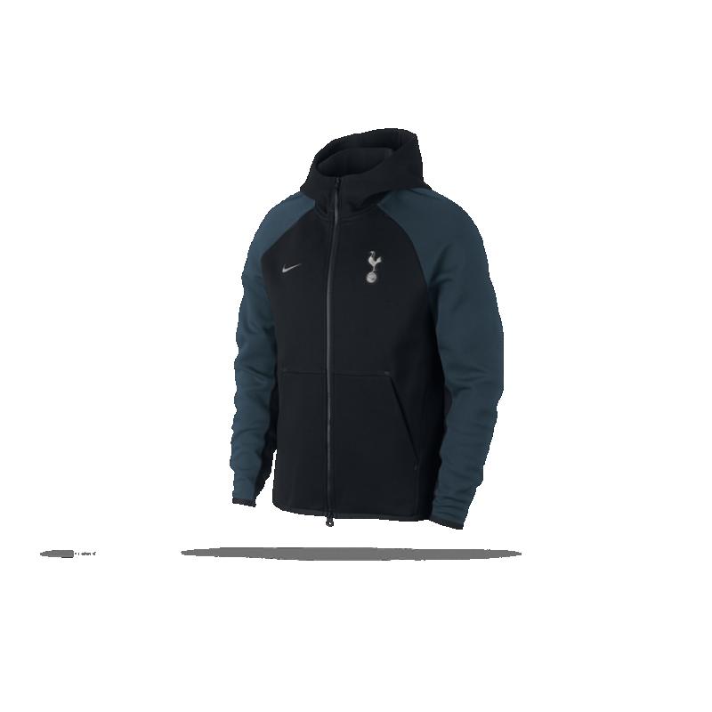 NIKE Tottenham Hotspur Tech Fleece Jacke (010) - Schwarz