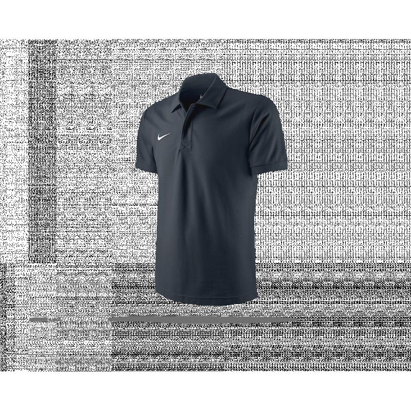 NIKE TS Core Poloshirt Mens Polo (010) - Schwarz