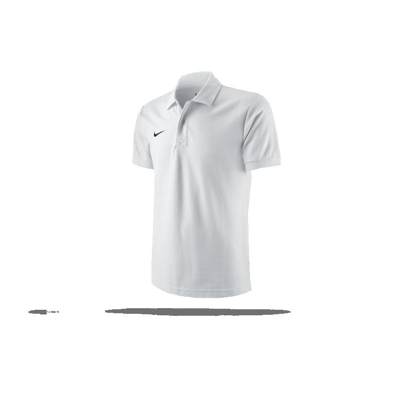 NIKE TS Core Poloshirt Mens Polo (100) - Weiss
