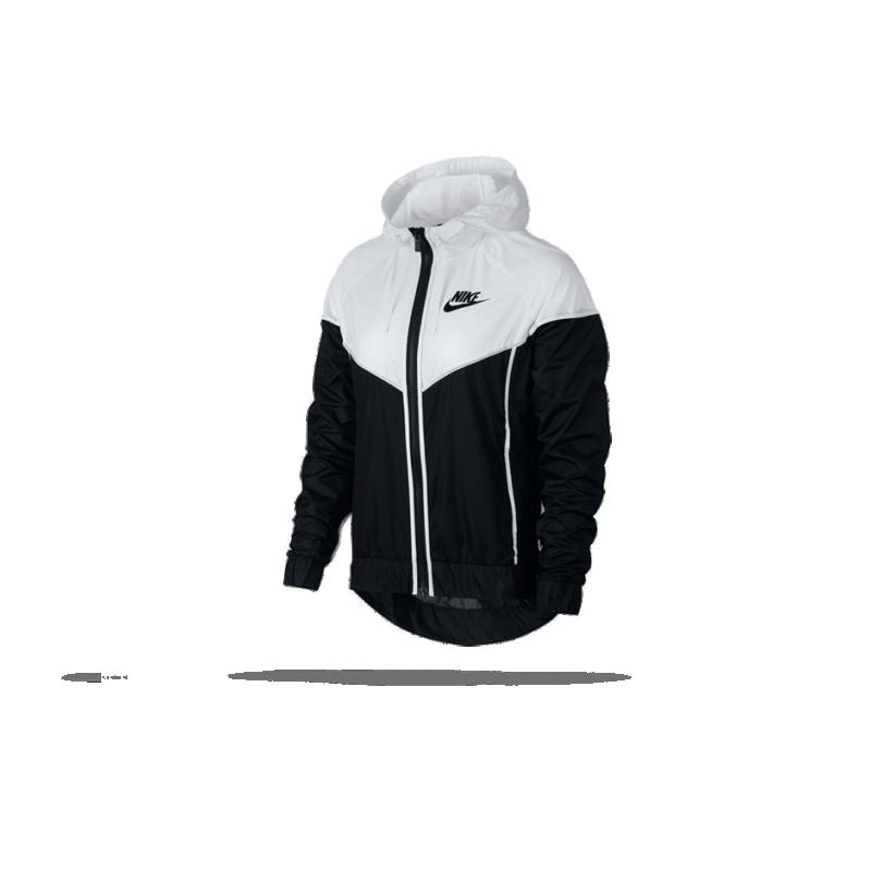 NIKE Windrunner Jacket Jacke Damen (011) in Schwarz