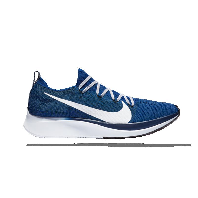 NIKE Zoom Fly Flyknit Running (400) - Blau