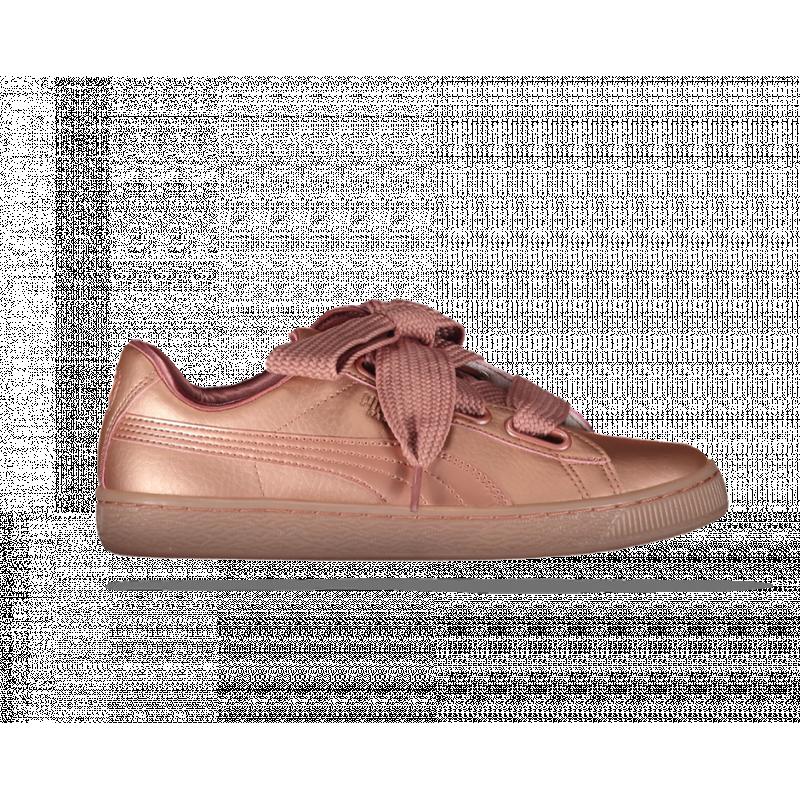 puma damen sneaker basket rosa