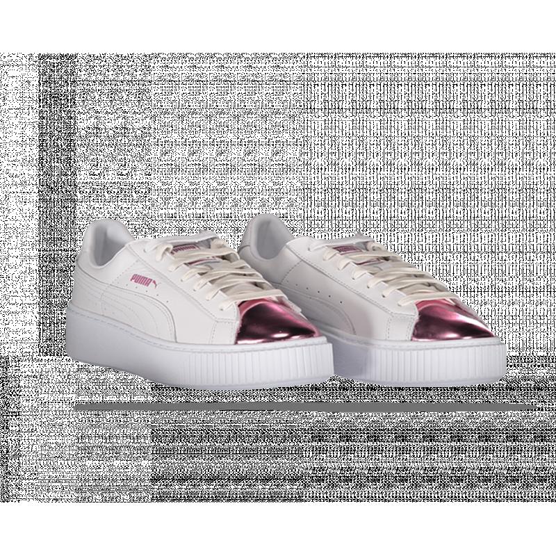 PUMA Basket Platform Metallic Sneaker Damen (004)