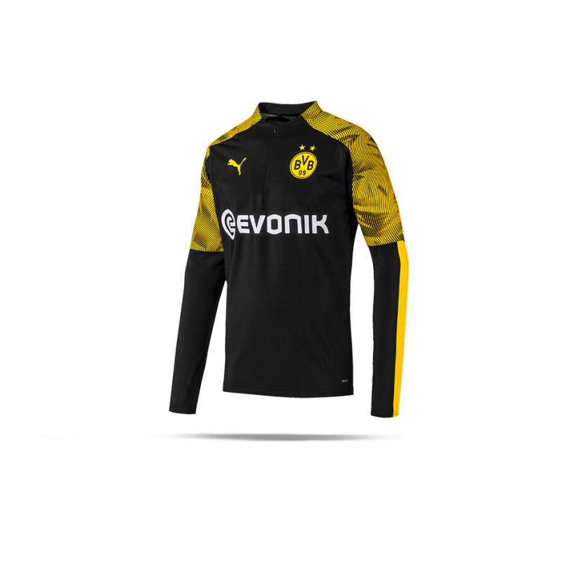 low priced effd0 841db PUMA BVB Dortmund 1/4 Zip Training Top (002)
