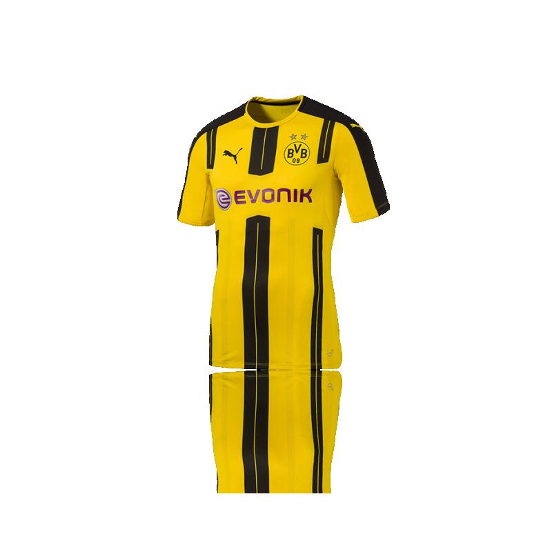 PUMA BVB Dortmund Authentik Trikot Home 16/17 (001) - Gelb