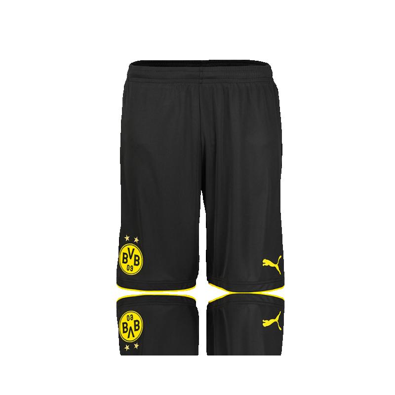 PUMA BVB Dortmund Short 17/18 (002) - Schwarz
