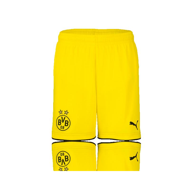 PUMA BVB Dortmund Short 17/18 (001) - Gelb
