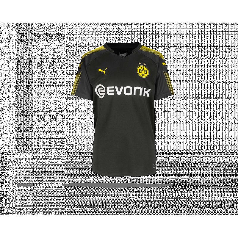 on sale 43733 60be0 PUMA BVB Dortmund Trikot Away 17/18 Kinder (002)