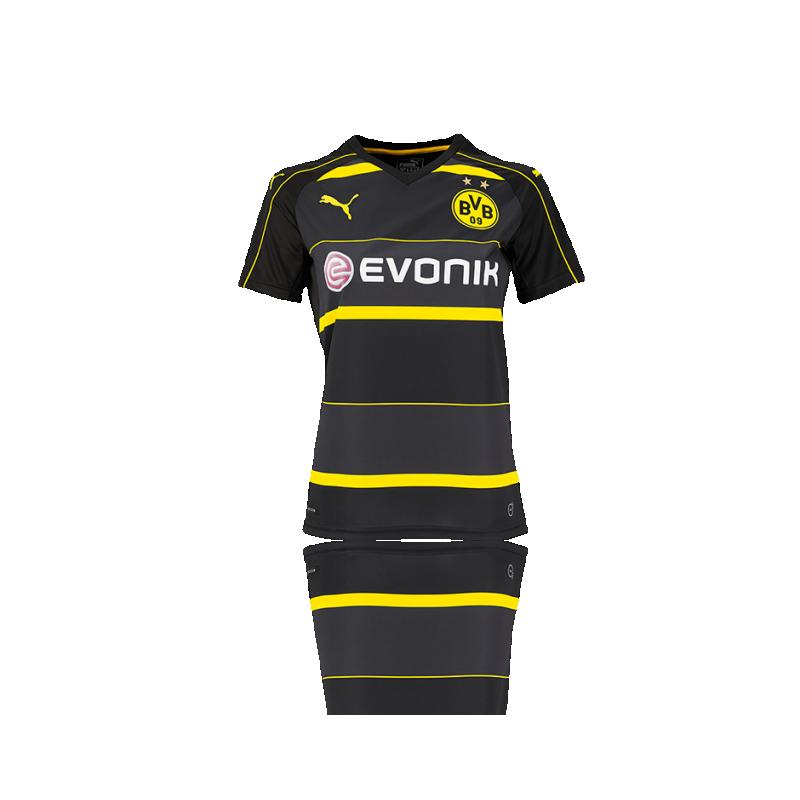 PUMA BVB Dortmund Trikot Away Damen 16/17 (002) - Schwarz
