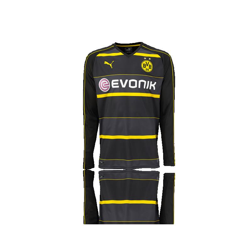PUMA BVB Dortmund Trikot Away LA 16/17 (002) - Schwarz