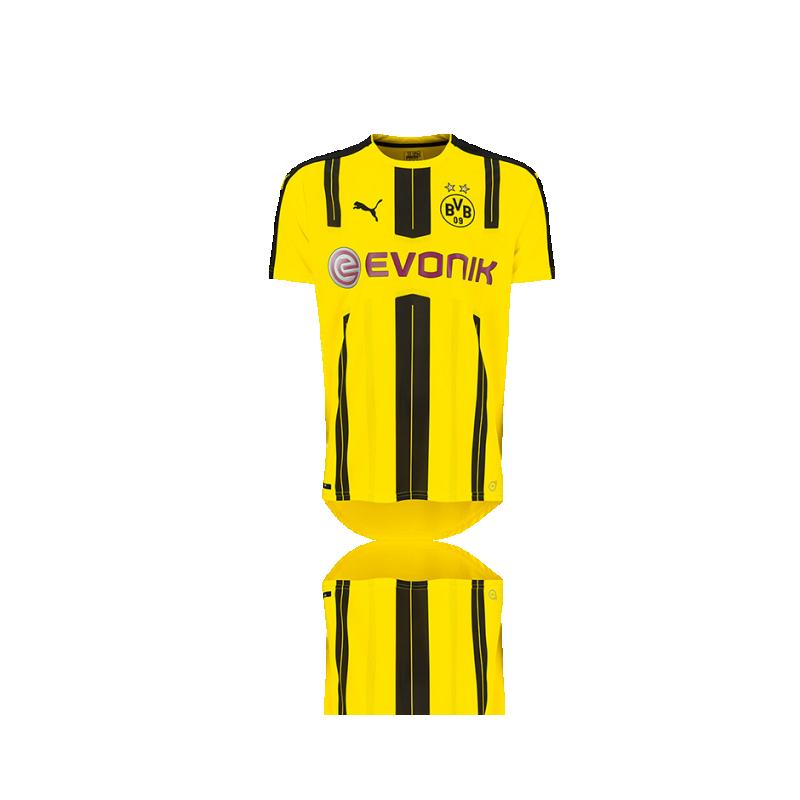 PUMA BVB Dortmund Trikot Home 16/17 (001) - Gelb