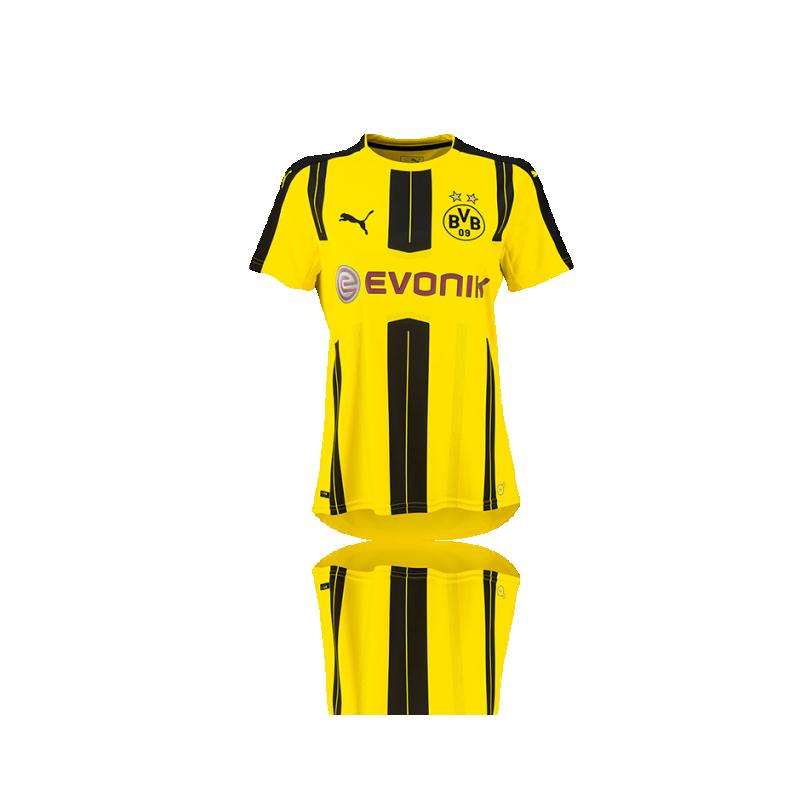 PUMA BVB Dortmund Trikot Home Damen 16/17 (001) - Gelb