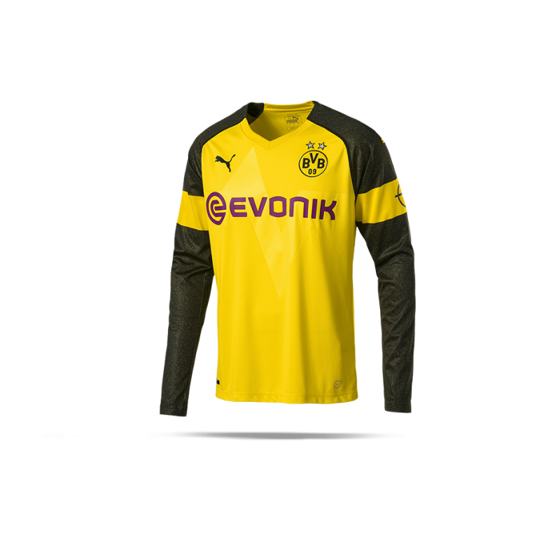 finest selection dc762 49ccb PUMA BVB Dortmund Trikot Home LA 18/19 (001)