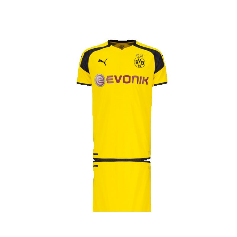 PUMA BVB Dortmund Trikot UCL 16/17 (011) - Gelb