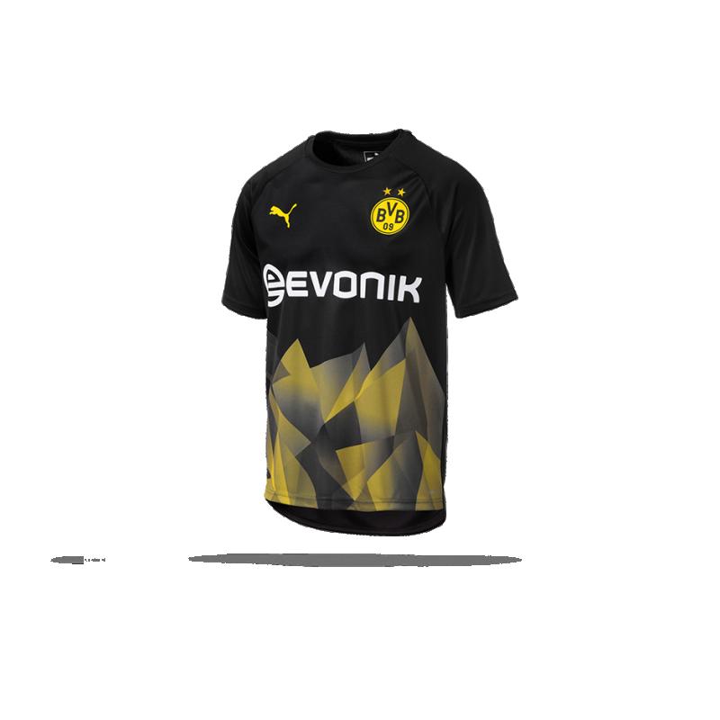 PUMA BVB Dortmund UCL Training Top T Shirt (002)