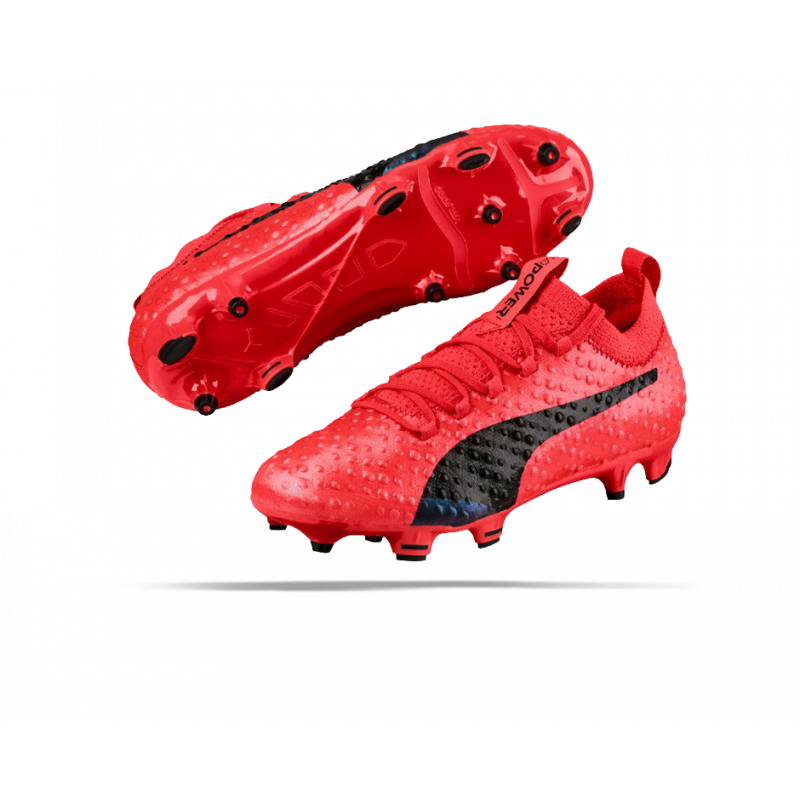 PUMA evoPOWER Vigor 3D 1 FG Kinder (001)