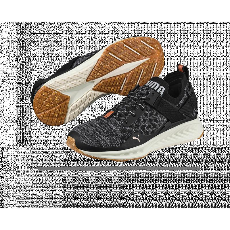 puma ignite evoknit lo vr sneaker damen 002 in schwarz. Black Bedroom Furniture Sets. Home Design Ideas