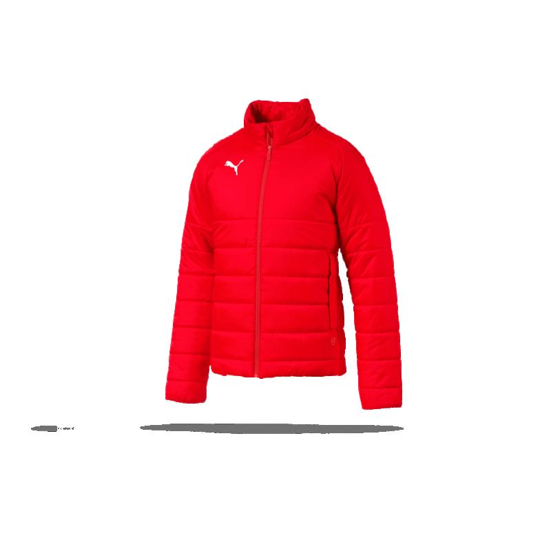 9e3f7620afb2 PUMA LIGA Casuals Padded Jacket Jacke (001) in Rot