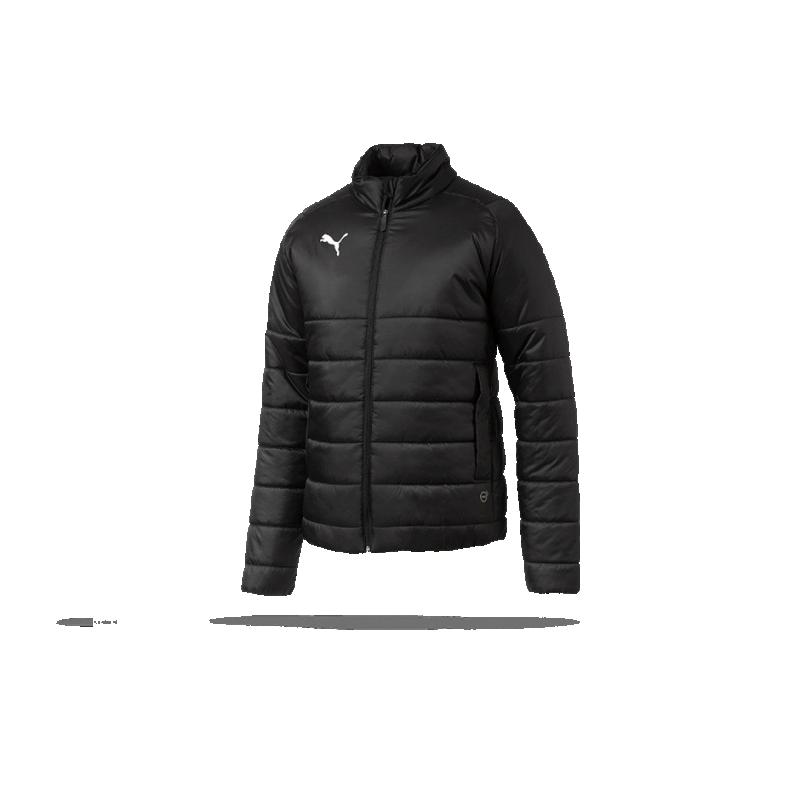 34400c3bee14 PUMA LIGA Casuals Padded Jacket Jacke (003) in Schwarz