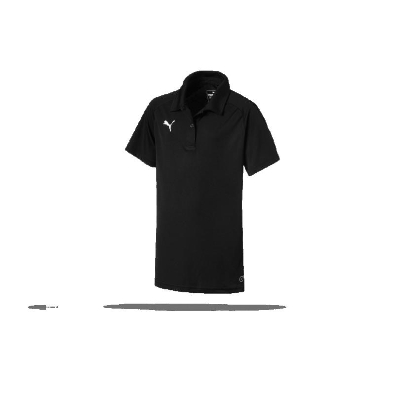 PUMA LIGA Sideline Poloshirt Damen (003) in Schwarz