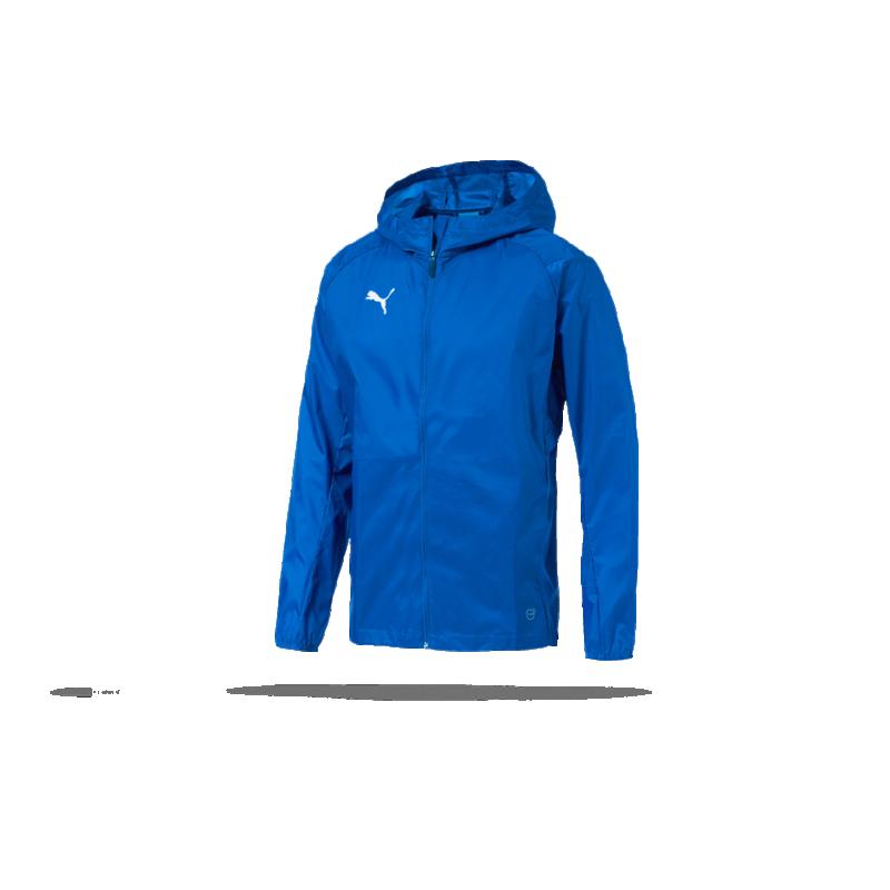 a425b4b7754bcb PUMA LIGA Training Rain Jacket Core Regenjacke (002) in Blau